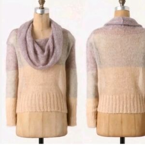 Anthropologie Knitted & Knotted  Mohair Sweater/M